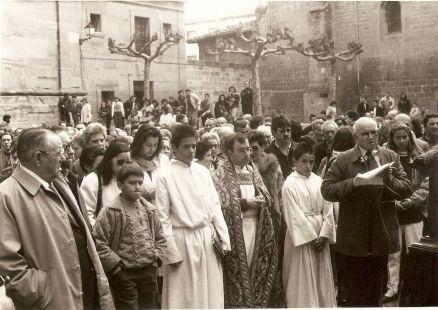 1988, procesi�n del Calvario en Santo Domingo