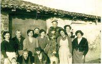 Foto familiar en Arenzana en 1957
