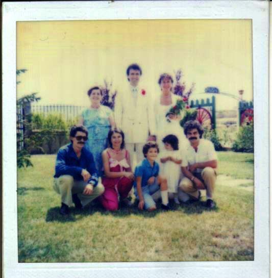 Foto de boda 1980