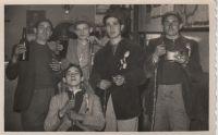 Quintos de Arnedo, en 1954