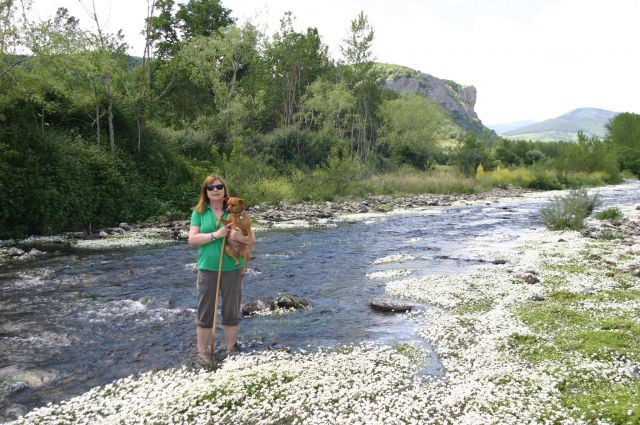 En el rio Oja