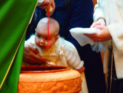 El bautizo de Hipatya