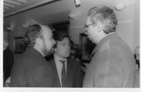 1990, las fuerzas vivas de Arnedo