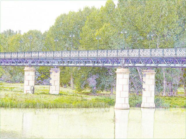 Puente de Hierro Logroño