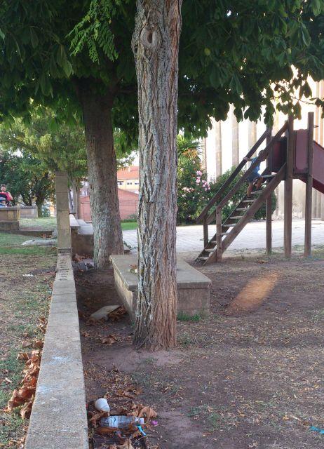 Sucio, peligroso y es un parque