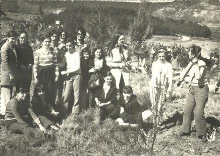 Alumnas de Adoratrices en La Grajera