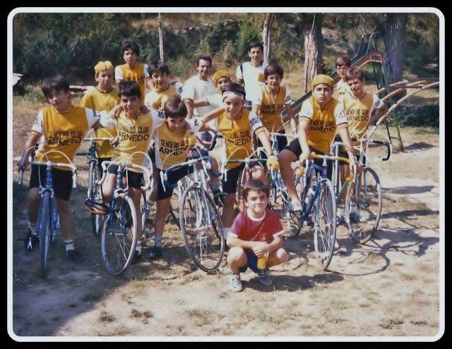 PEÑA CICLISTA SENDERO 29-JUNIO-1986.