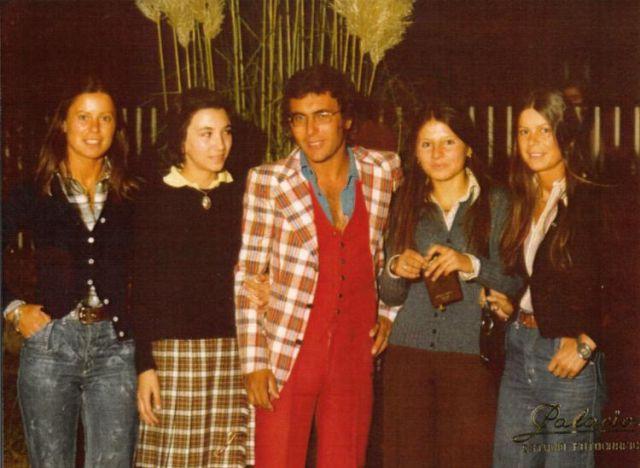 Albano rodeado por Riojanas 1970