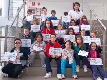Prebenjamines Club Natación Logroño