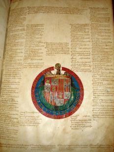 Concesión de los Reyes Católicos para el Solar de Tejada 1491