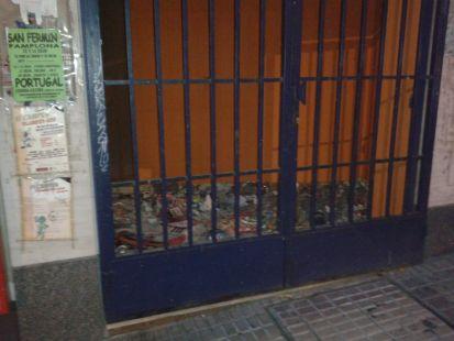 Suciedad en Club Deportivo