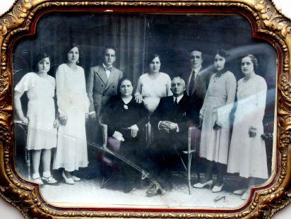 Retrato de la familia Calvo en 1932