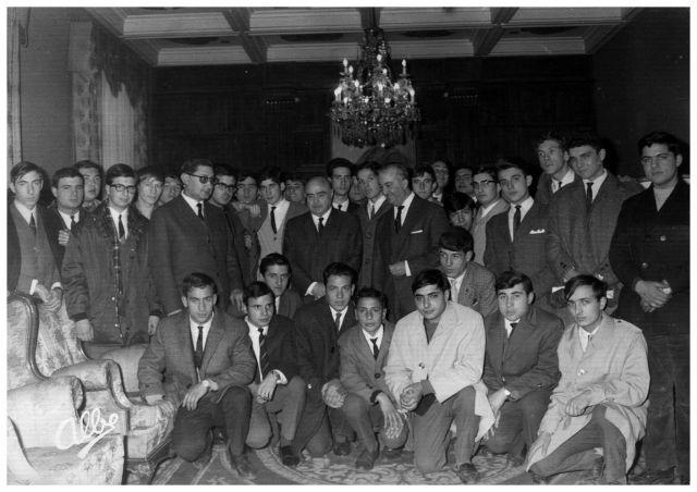 Visita al gobernador civil en 1967