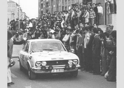 Salida del Criterium de Rioja años 70