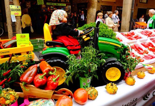 La Riojanita del tractor