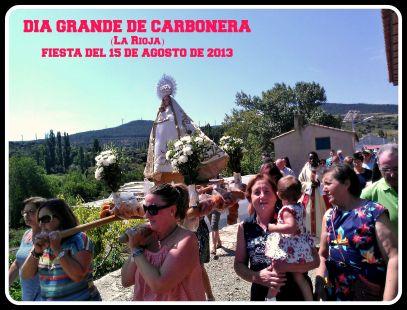 FIESTAS DE CARBONERA 15 de Agosto (Virgen de la Asunción)