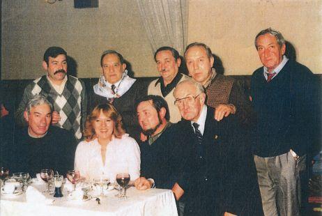 Socios del Club Taurino, en 1982