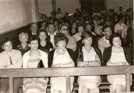 De romería en Santo Domingo en 1982