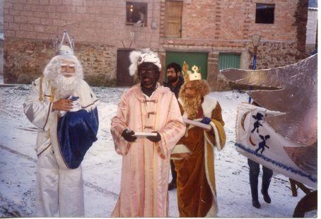 1985, los Reyes Magos en Valgañón