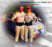 Campeones Riojanos de Rallyes de Tierra 2013