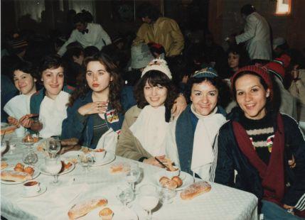 Quintas de desayuno hace 31 años