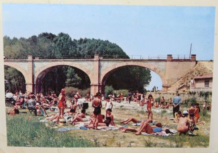 La 'playa' de Haro, en los 60