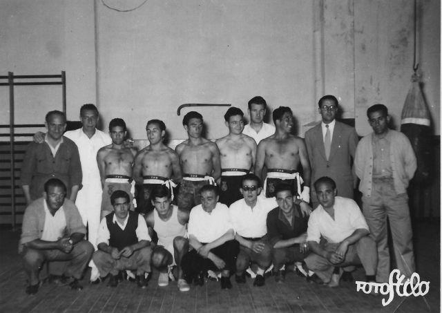 Pioneros del boxeo en Logroño