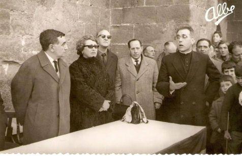 Entrega de diplomas en 1967