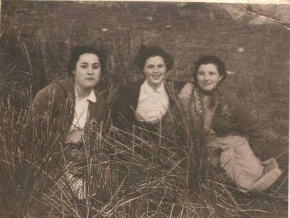 En el prado de Clunia en 1956