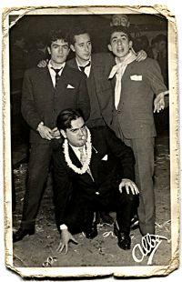 Retrato de un grupo de amigos en Logroño