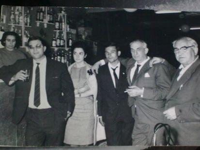 Aperitivo en Arenzana en 1963