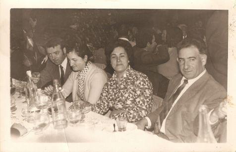 Banquete de bodas de 1972 en Cervera