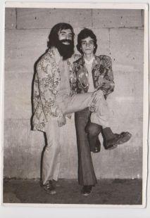 Logroñeses en fiestas de San Bernabé en 1974