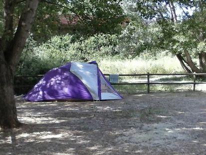 De camping en ¿el parque del Iregua?