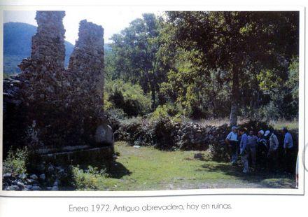 Ruinas del abrevadero de Cilbarrena