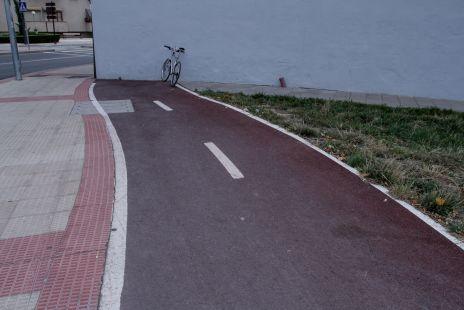 Un carril bici que no lleva a ninguna parte