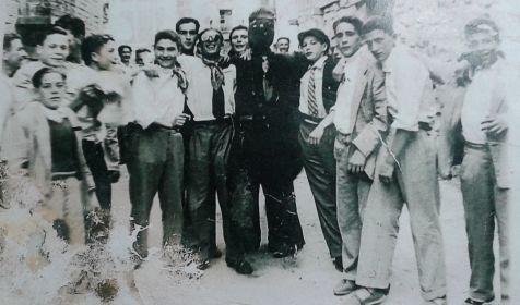 Fiestas en Matute en 1956