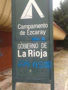 Insultante inscripción en Ezcaray