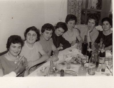 Cuadrilla femenina en 1961
