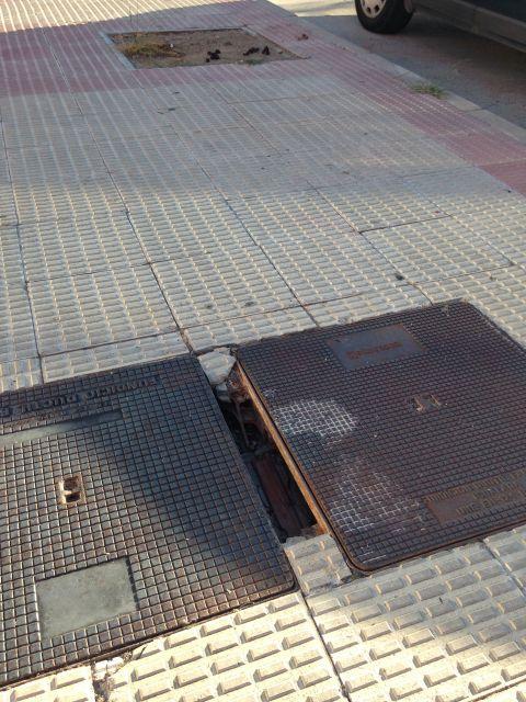 Suciedad en la calle Río Duero de Lardero