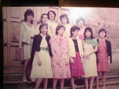 Amigas de Arenzana de Abajo en 1978