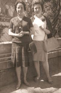 De Cervera a Sevilla en la década de los 50