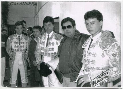 Tarde de toros en Calahorra en 1987
