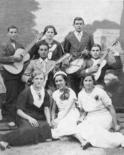 Fiestas de San Antonio en el año 1933