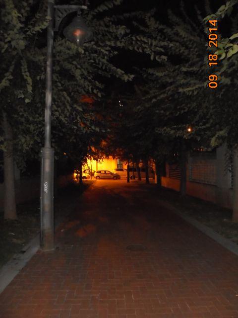 Sion farolas y casi sin luz en García Lorca