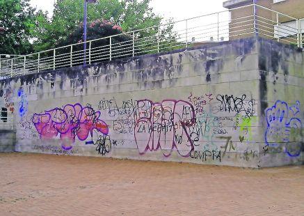 Pintadas en la vía publica