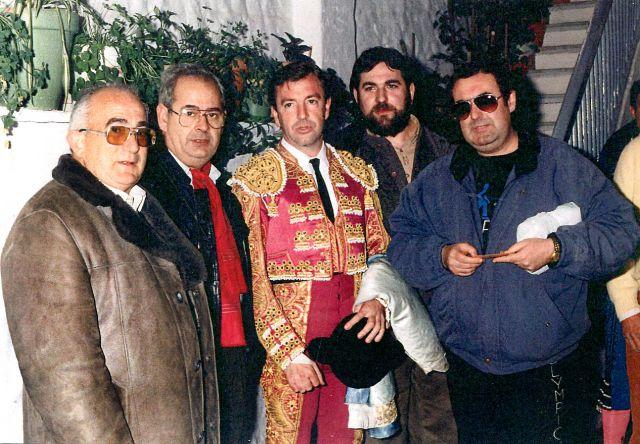 Curro Vázquez en Logroño en 1984