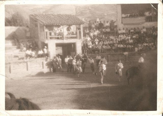 Plaza de toros de Cervera hace 50 años