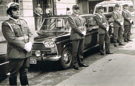 Homenaje a Tráfico de la Guardia Civil