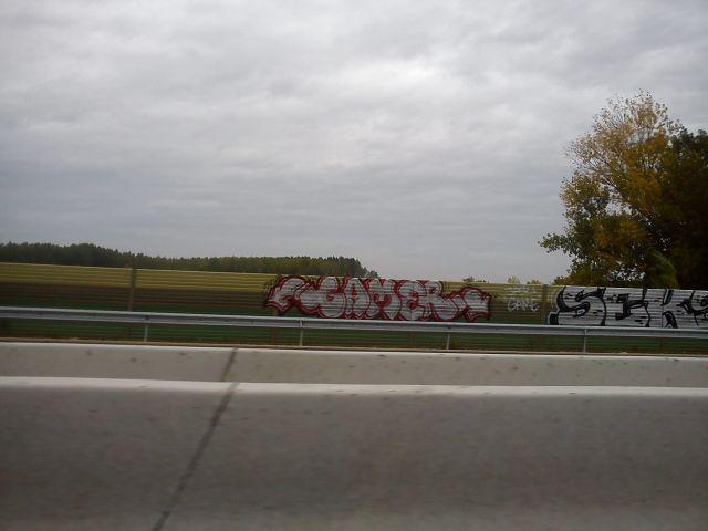Vandalismo Nueva Circunvalacion